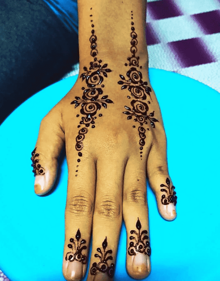 Bewitching Boston Henna Design