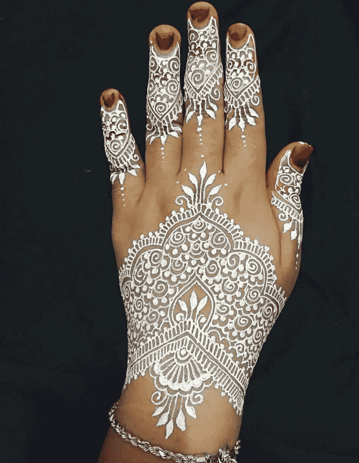 Captivating Boston Henna Design