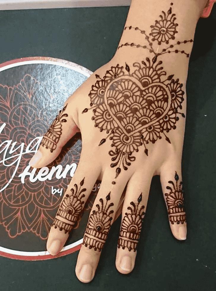 Classy Boston Henna Design