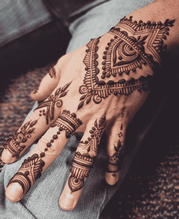 Angelic Boys Henna Design