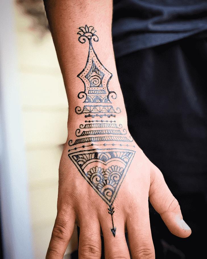 Appealing Boys Henna Design