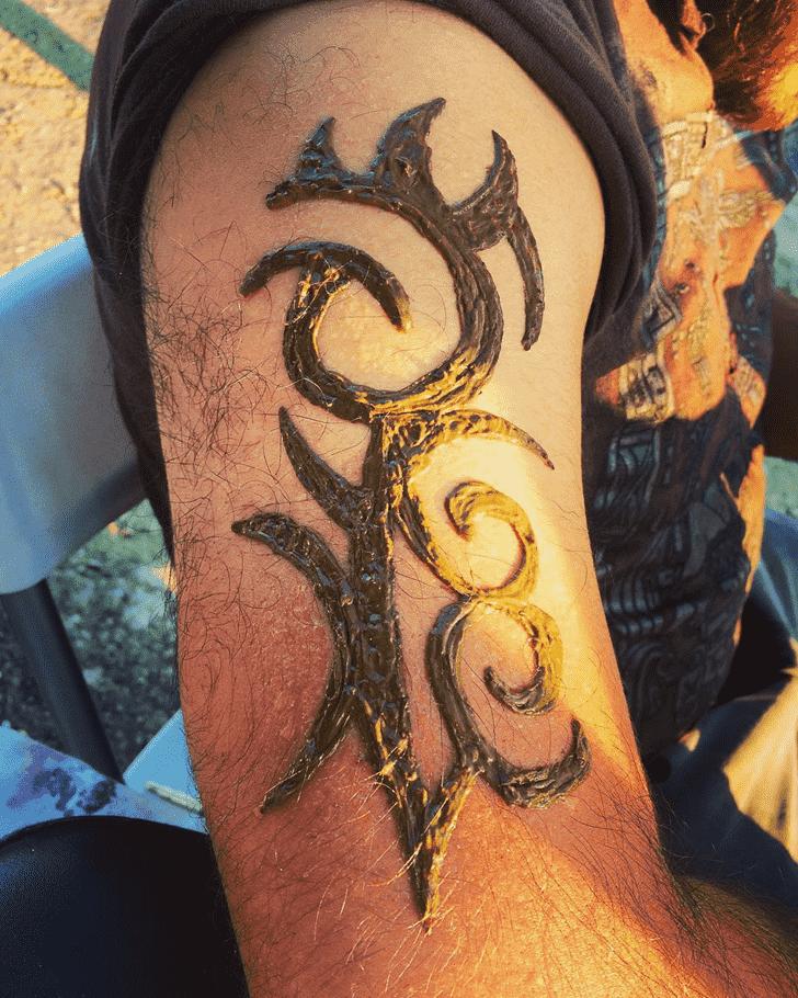 Beauteous Boys Henna Design