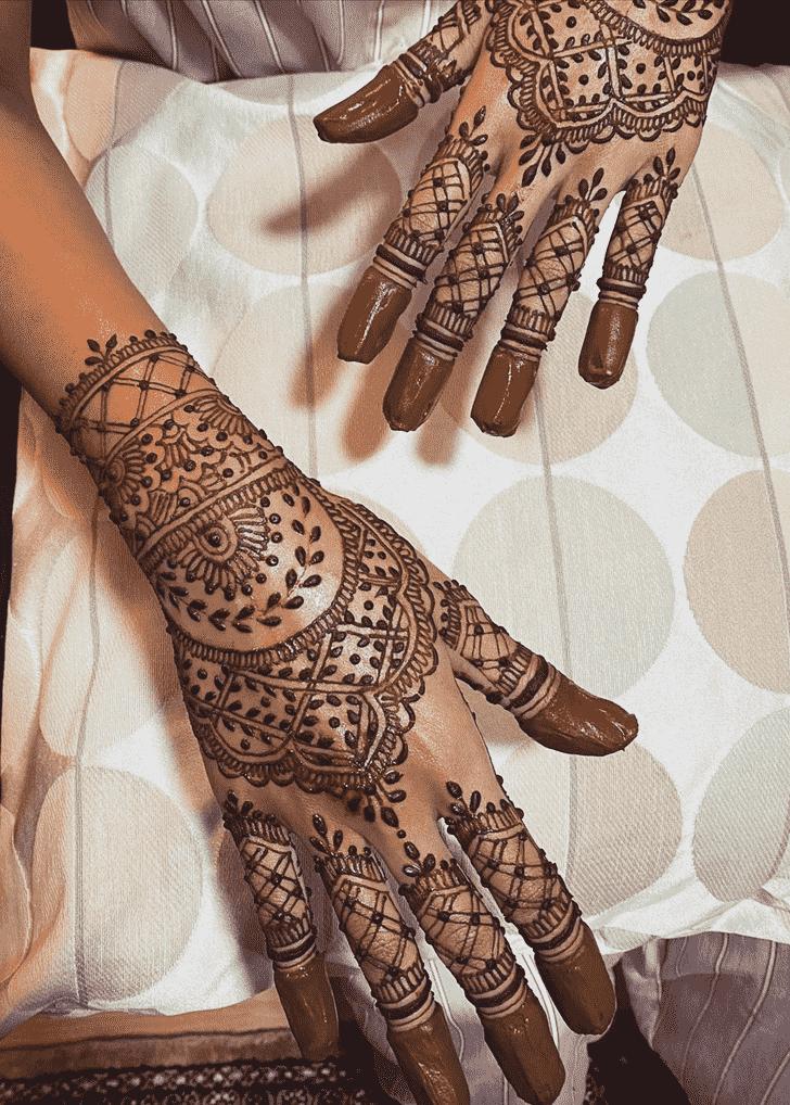 Beauteous Bridal Henna Design