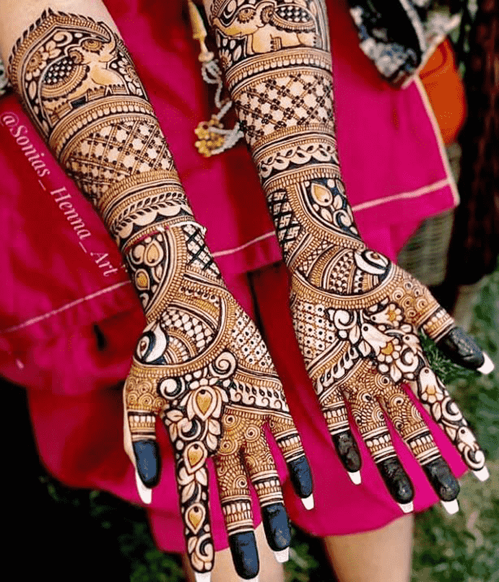 Beauteous Celebrity Henna Design