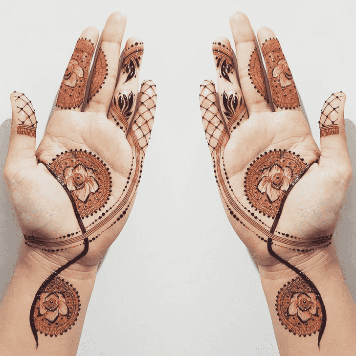 Angelic Chicago Henna Design