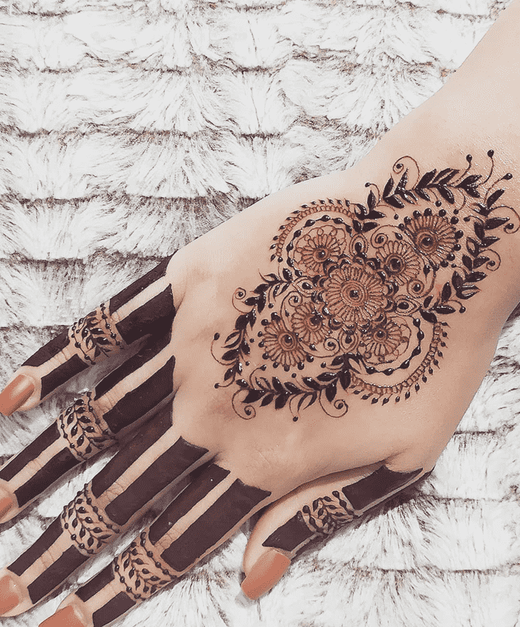 Beauteous Chicago Henna Design