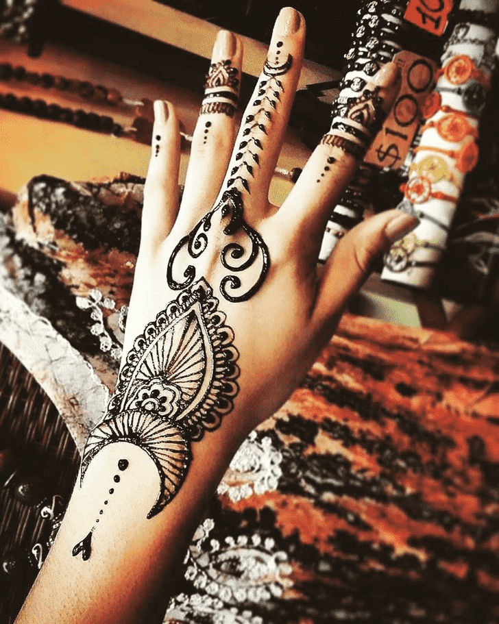 Awesome Chicago Henna Design