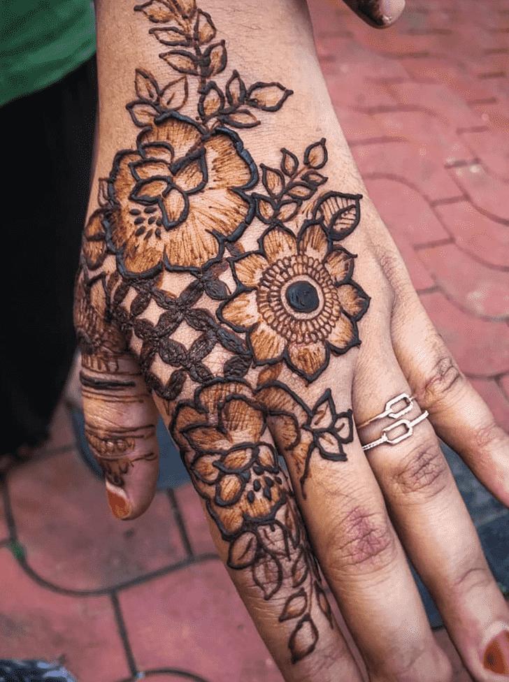 Magnificent Chicago Henna Design