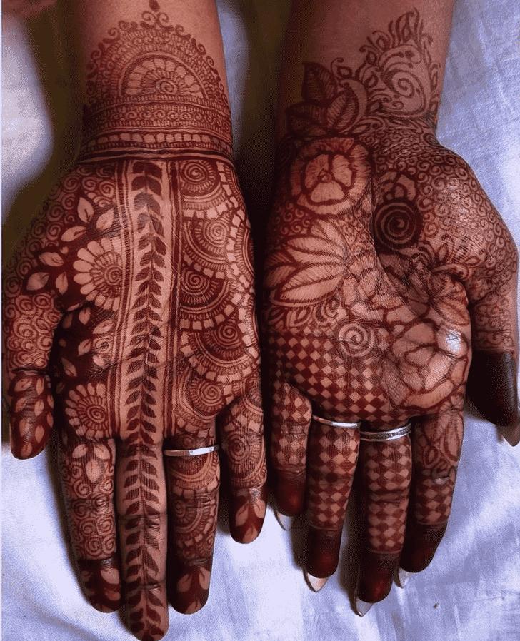 Marvelous Chicago Henna Design