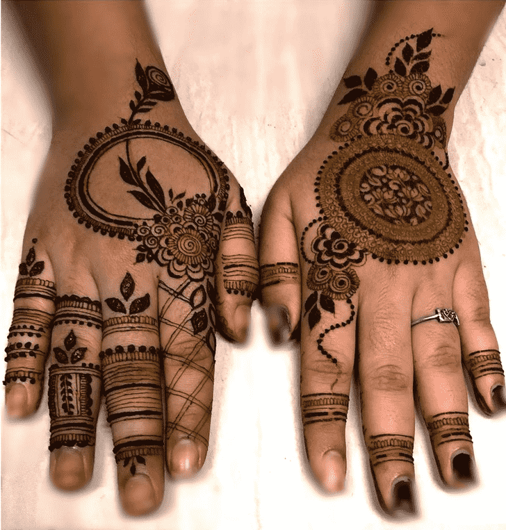 Mesmeric Chicago Henna Design