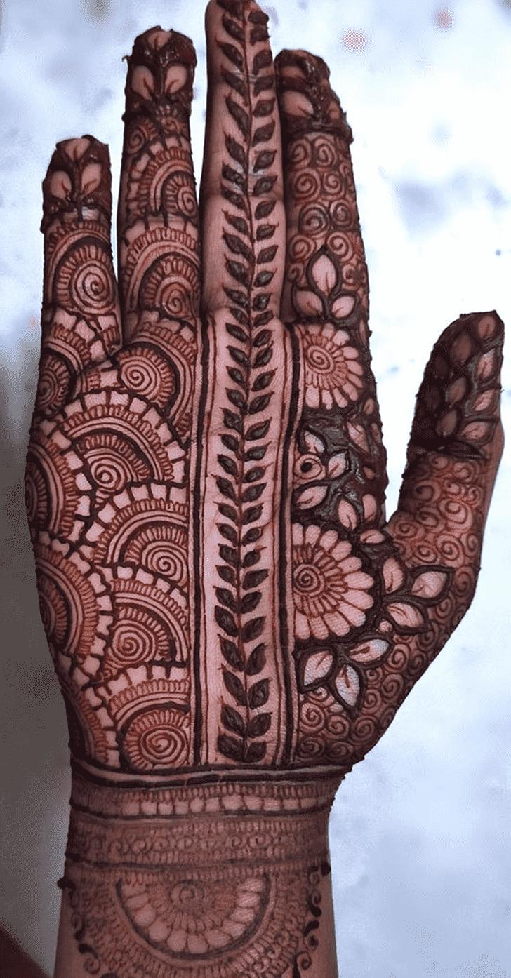 Nice Chicago Henna Design