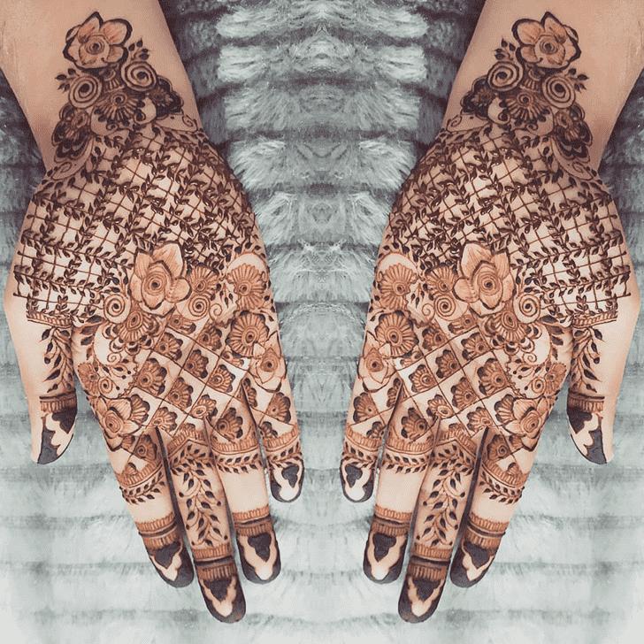 Stunning Chicago Henna Design
