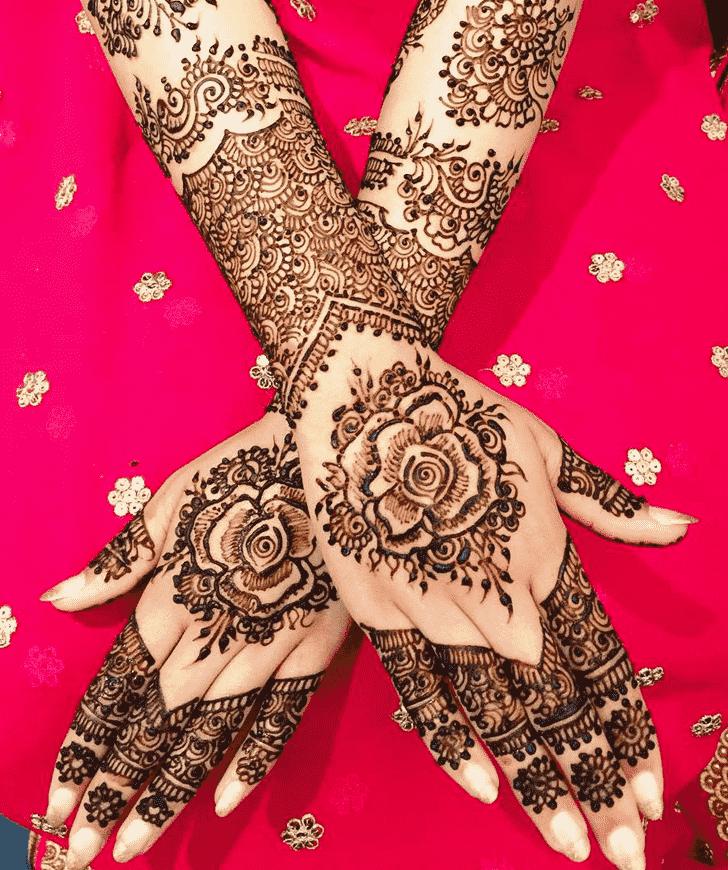 Alluring Coimbatore Henna Design