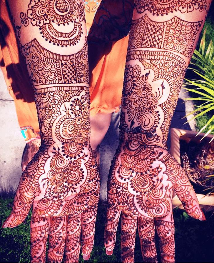 Beauteous Coimbatore Henna Design