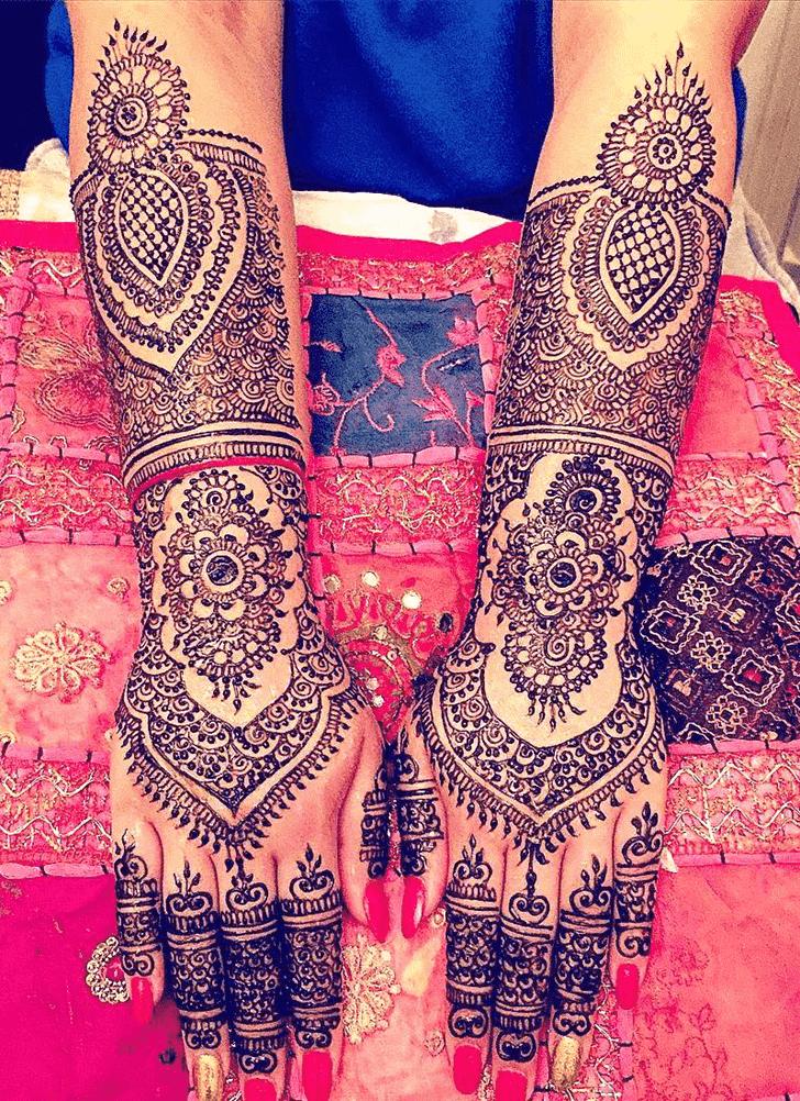 Captivating Coimbatore Henna Design