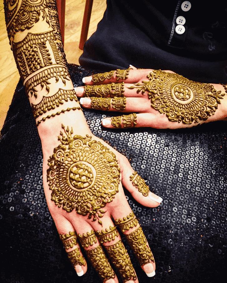Classy Coimbatore Henna Design