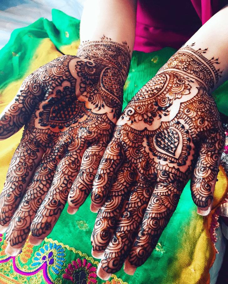 Dazzling Coimbatore Henna Design