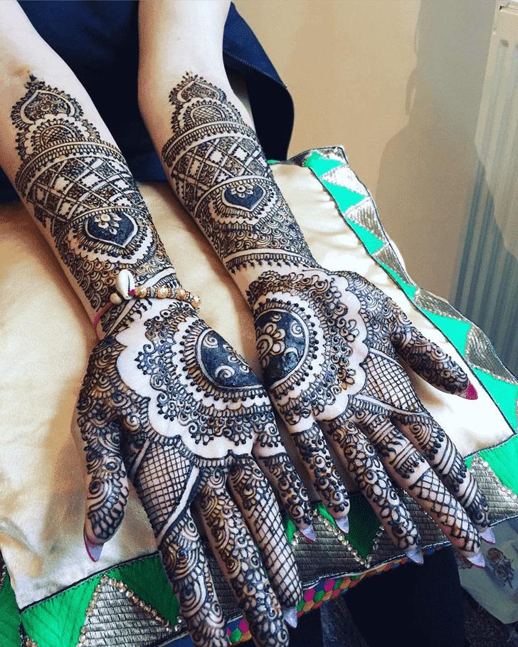 Delightful Coimbatore Henna Design