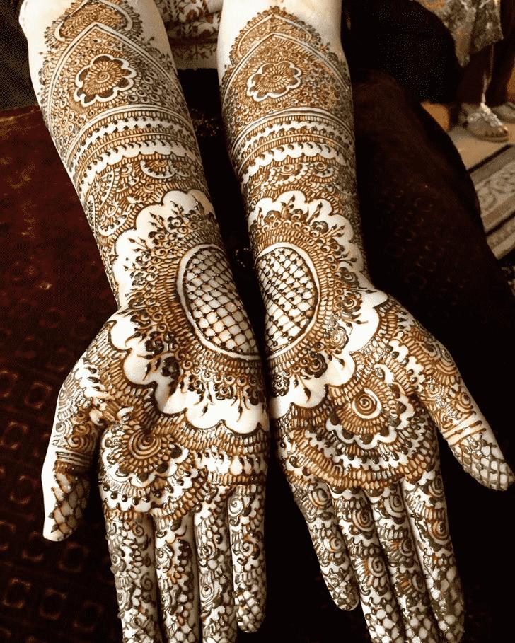 Elegant Coimbatore Henna Design