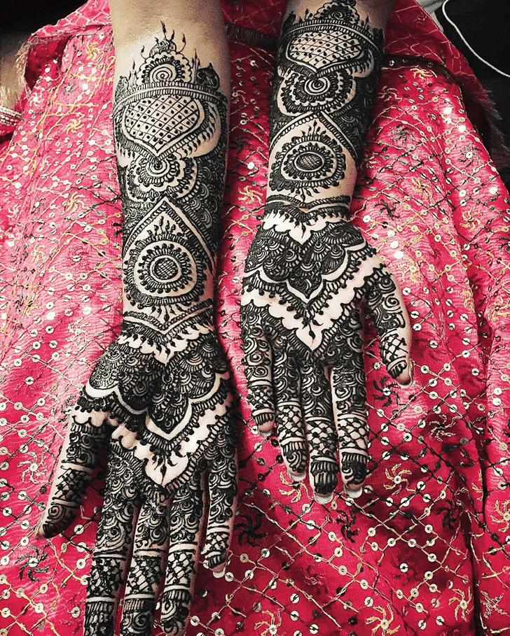 Enthralling Coimbatore Henna Design