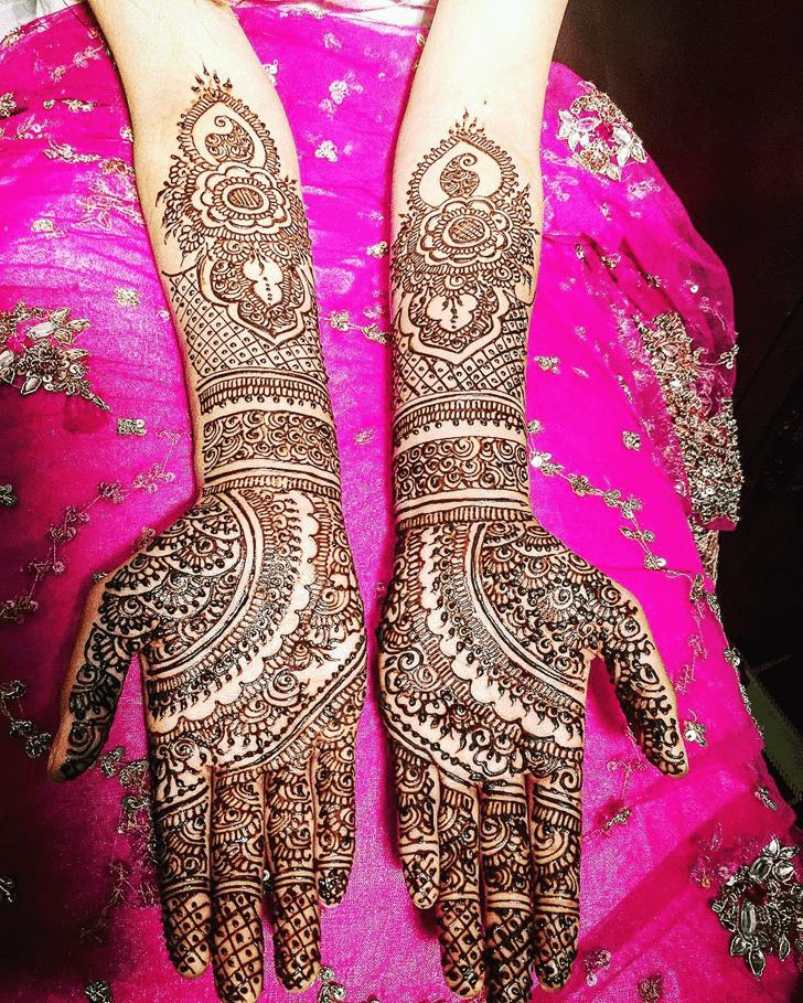 Enticing Coimbatore Henna Design