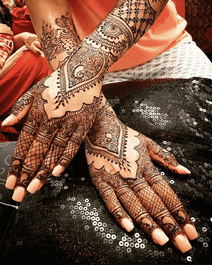 Exquisite Coimbatore Henna Design