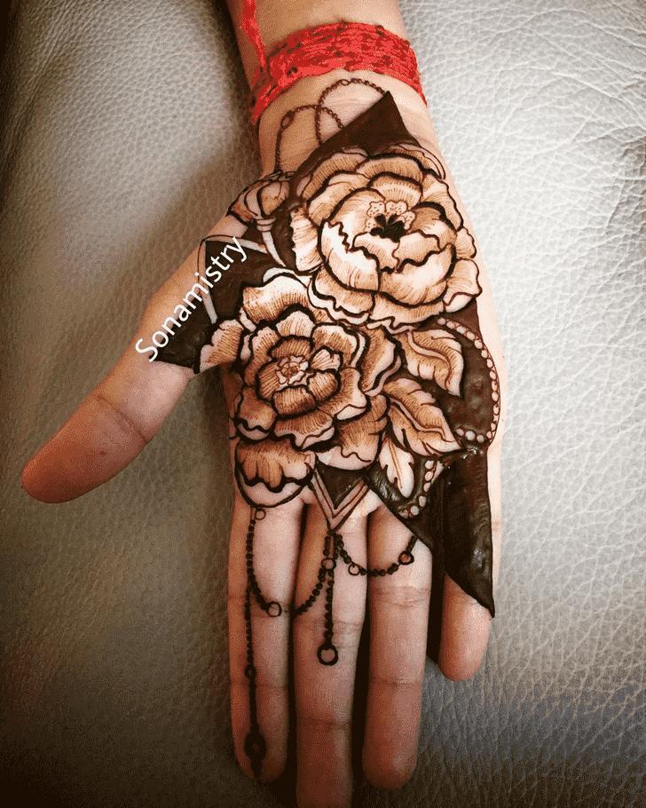 Fine Coimbatore Henna Design