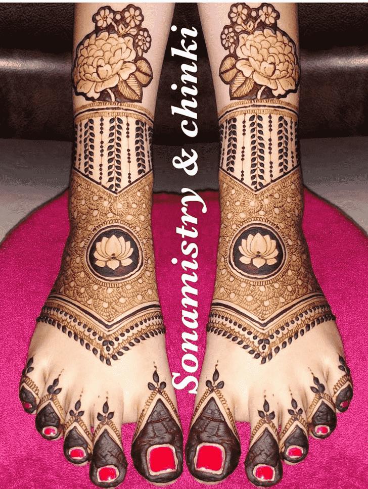 Gorgeous Coimbatore Henna Design