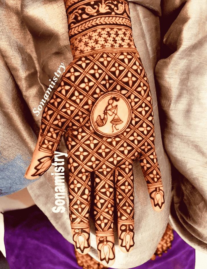 Awesome Coimbatore Henna Design