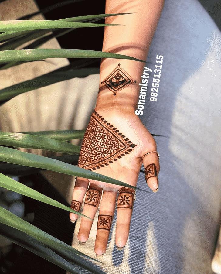 Magnetic Coimbatore Henna Design