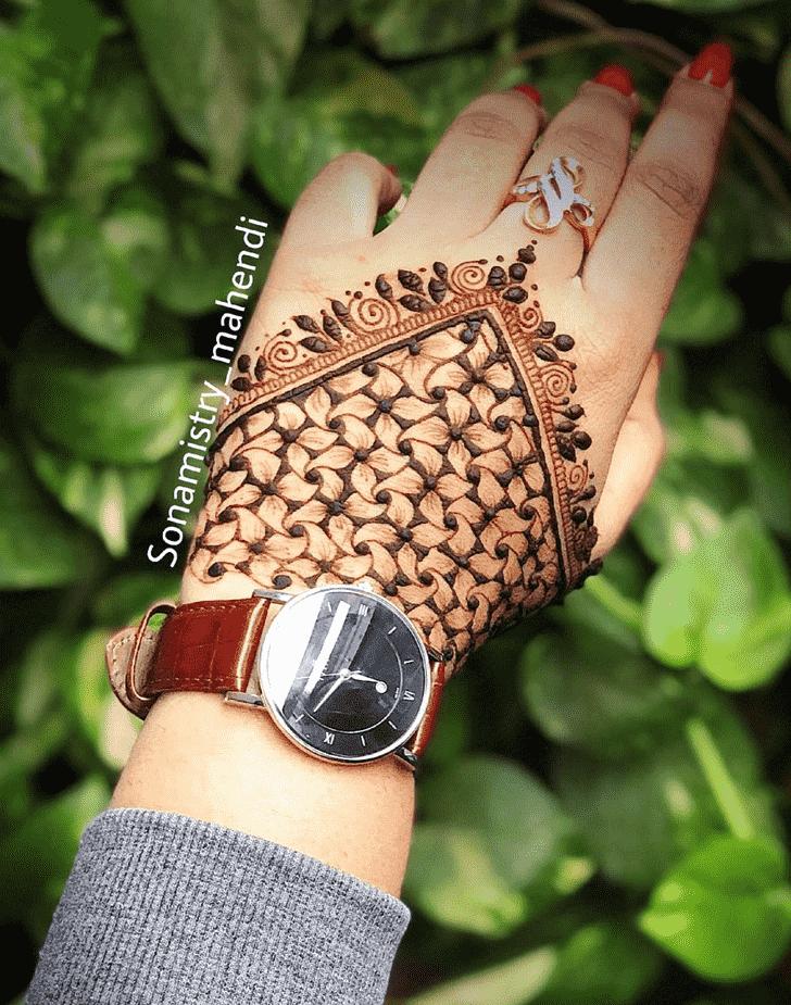 Marvelous Coimbatore Henna Design
