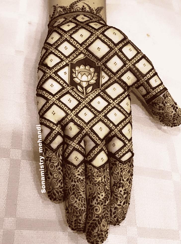 Nice Coimbatore Henna Design