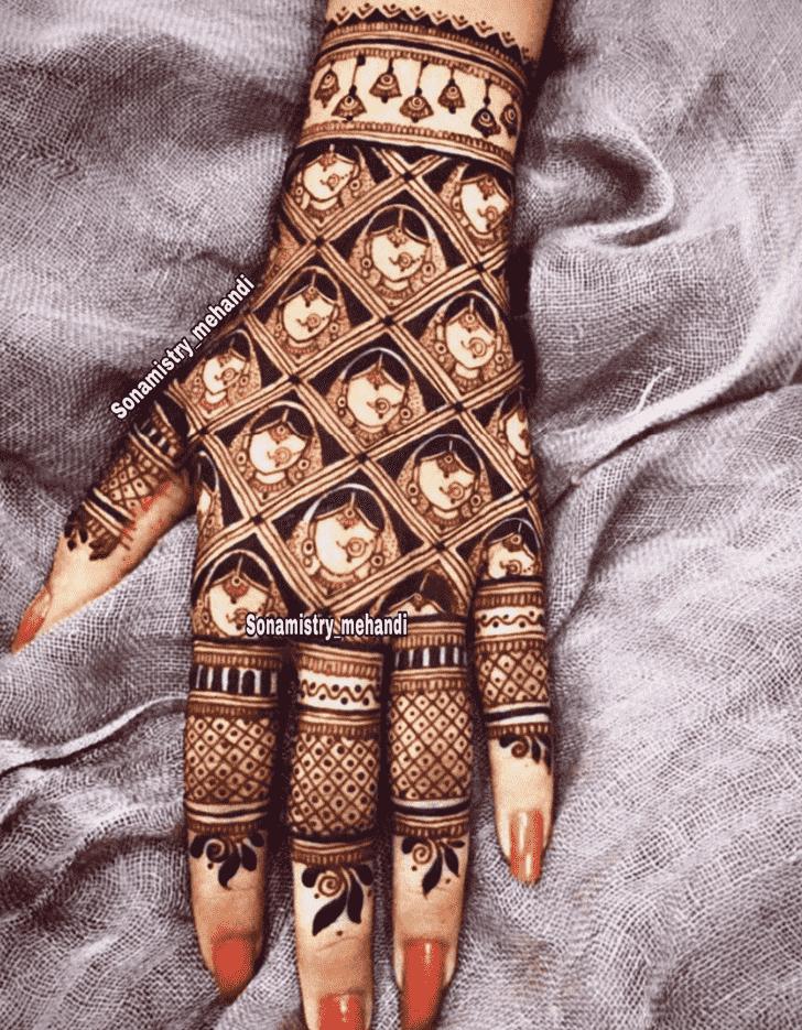 Radiant Coimbatore Henna Design