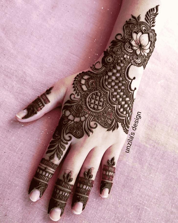Slightly Coimbatore Henna Design
