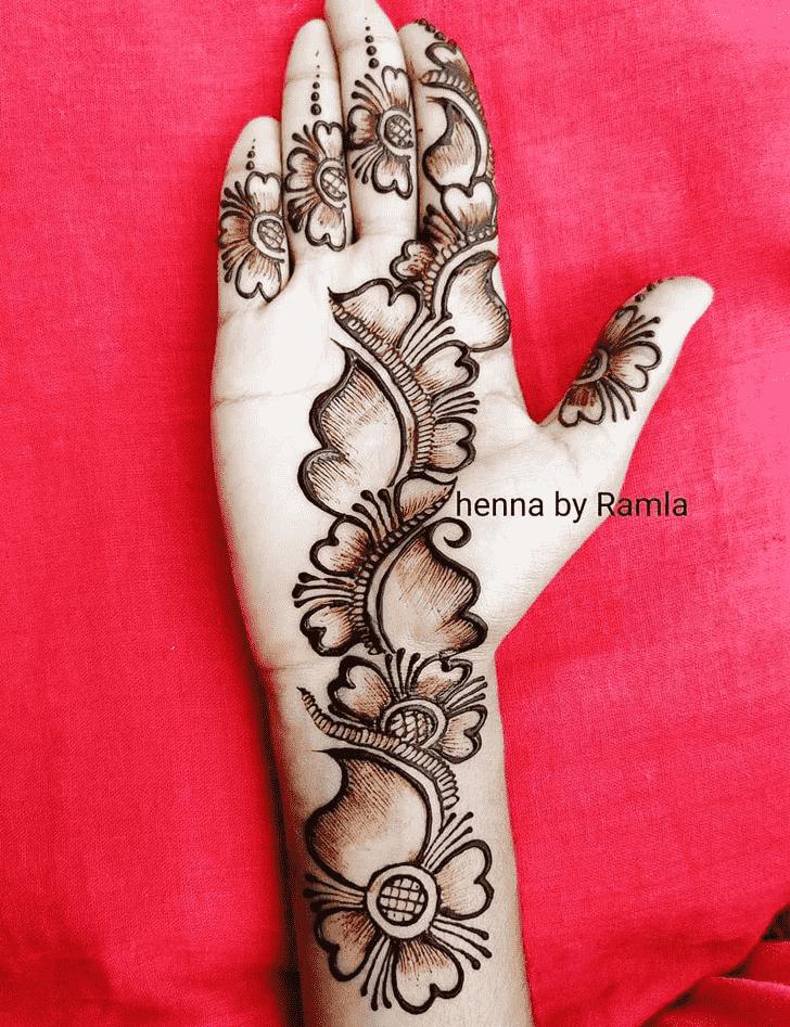 Stunning Coimbatore Henna Design