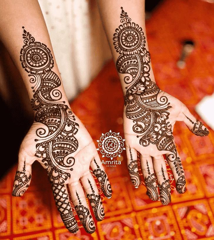Superb Coimbatore Henna Design