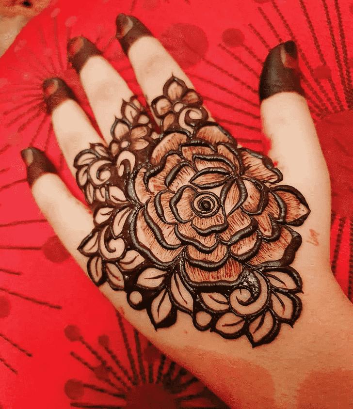 Exquisite Comilla Henna Design