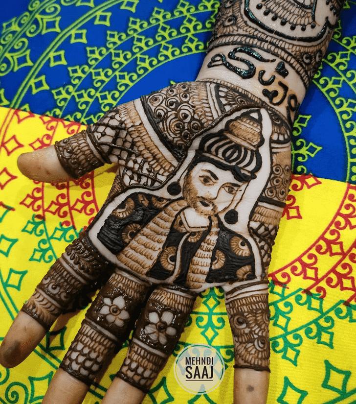 Fair Comilla Henna Design