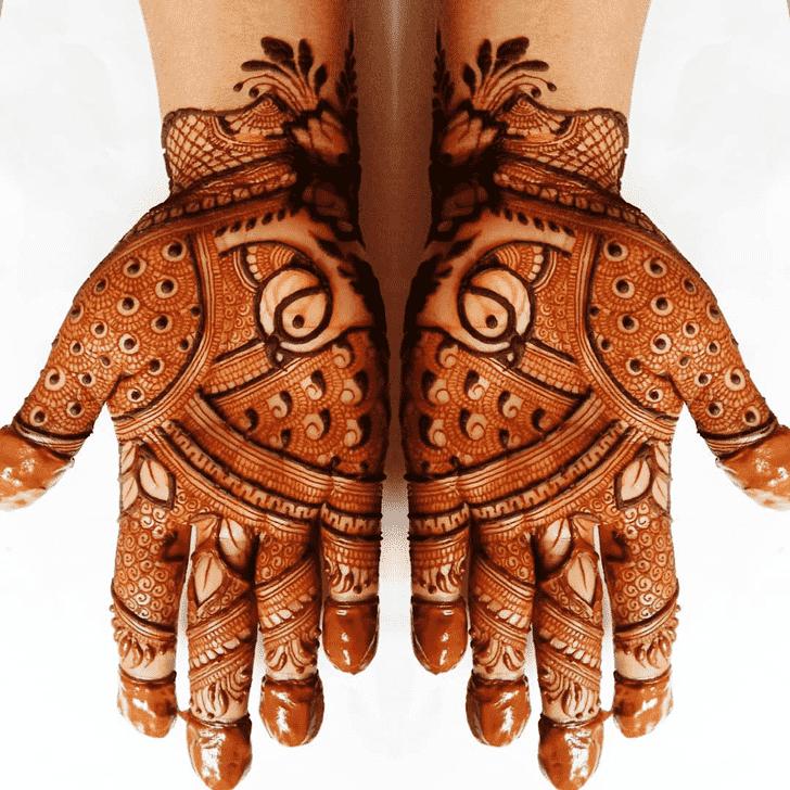 Fine Comilla Henna Design