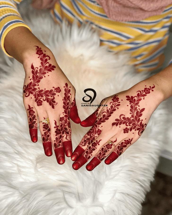 Good Looking Comilla Henna Design