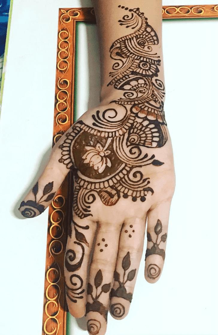Awesome Comilla Henna Design