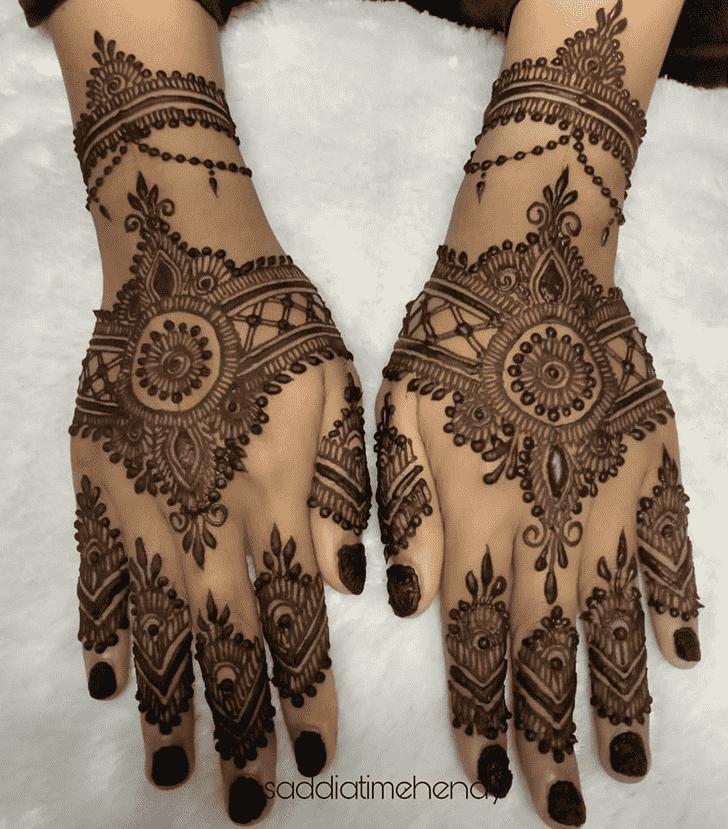 Lovely Comilla Mehndi Design