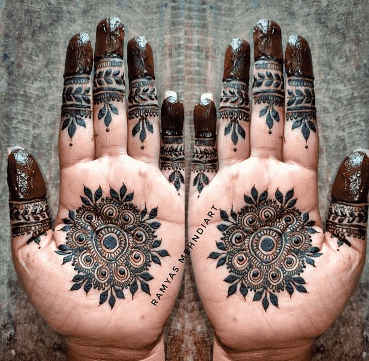 Nice Comilla Henna Design