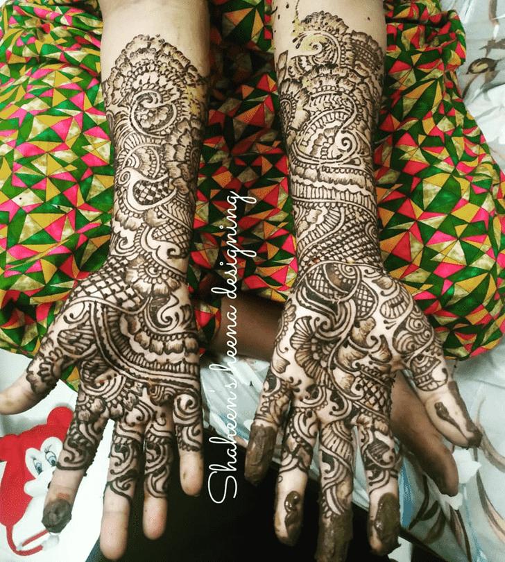 Splendid Comilla Henna Design
