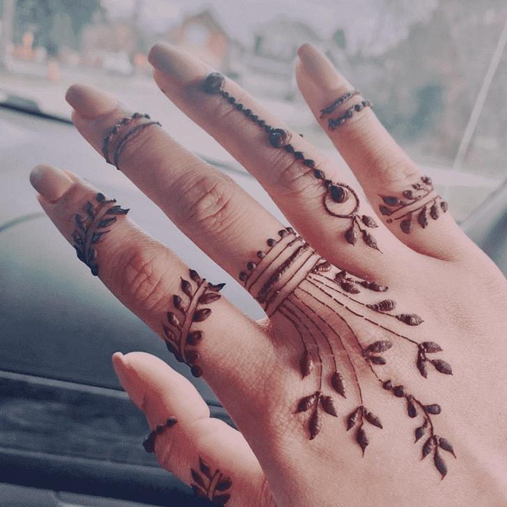 Stunning Comilla Henna Design
