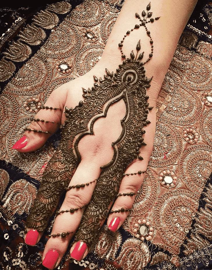 Adorable Copenhagen Henna Design