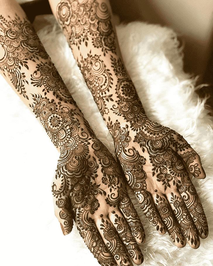 Classy Copenhagen Henna Design