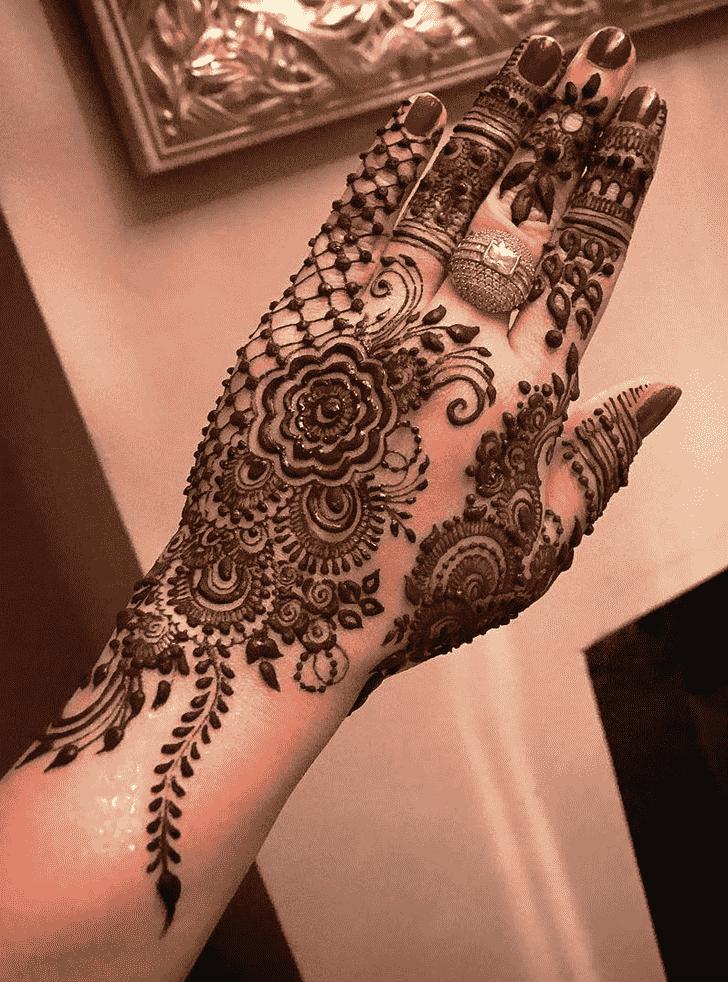 Dazzling Copenhagen Henna Design