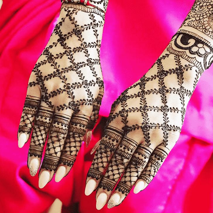 Elegant Copenhagen Henna Design