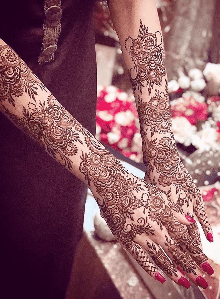Fascinating Copenhagen Henna Design